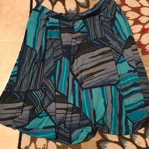 Lularoe Madison Graphic Skirt